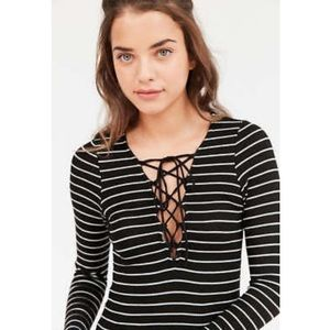 Project Social T UO Striped Long Sleeve Tee
